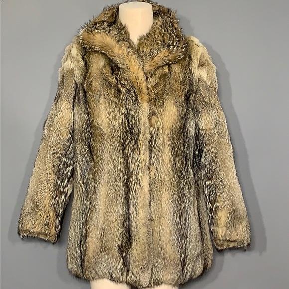 Wolf Fur Coat >> Coyote Wolf Fur Coat Nwot